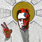 Art: Christopher Hitchens Poster