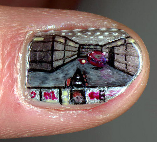 Fashion Doom Nail Art Geekmodish
