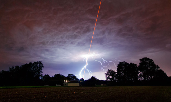 laser lightning Science: Laser & Lightning