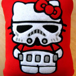 Home Goods: Hello Kitty Trooper Pillow